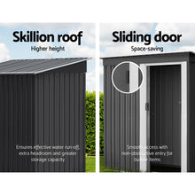 Load image into Gallery viewer, 1.64x0.89M Garden Shed Outdoor Storage Sheds Tool Workshop Shelter Metal