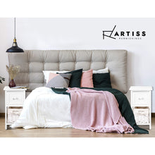 Load image into Gallery viewer, 2 PCS Ariss Bedside Table - White
