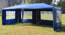 Load image into Gallery viewer, 3x6m  Outdoor Marquee Tent Canopy Blue