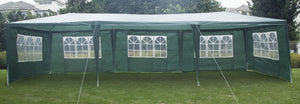 3x9m Wedding Outdoor  Marquee Tent Canopy Green