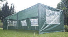 Load image into Gallery viewer, 3x9m Wedding Outdoor  Marquee Tent Canopy Green