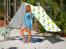 Load image into Gallery viewer, Good Vibes Summer Beach Tent Pineapple 148x370cm