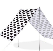 Load image into Gallery viewer, Good Vibes Summer Beach Tent Spot Black 148x370cm