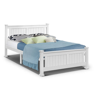 Queen Size Wooden Bed Frame Kids Adults Timber
