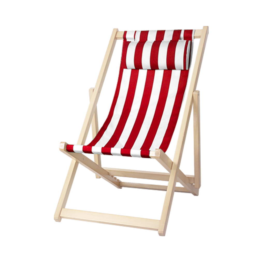 Artiss Outdoor Furniture Sun Lounge Chairs Deck Chair Folding Wooden Beach Patio