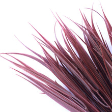 Load image into Gallery viewer, Dark Red Artificial Grass Stem 35cm Long UV Resistant