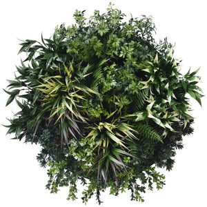 UV Green Fields Green Wall Disc (Black) 60cm