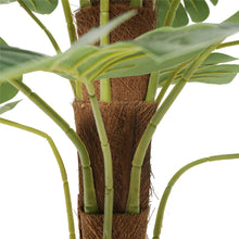 Load image into Gallery viewer, Artificial Money Plant (Monstera) with decorative pot 180cm
