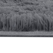 Load image into Gallery viewer, 140x200cm Ultra Soft Shaggy Rug Large Floor Carpet Anti-slip Area Rugs Grey
