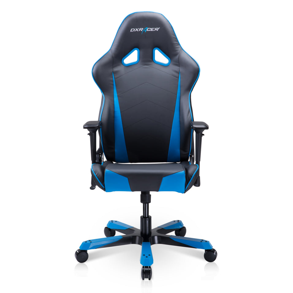 DXRacer Tank Series Big and Tall Office PC & Racing Gaming Chair TS29/NB-Black/Blue