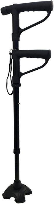 Worlds Best Folding Cane Get Up And Go Double Foam Handle with LED Light