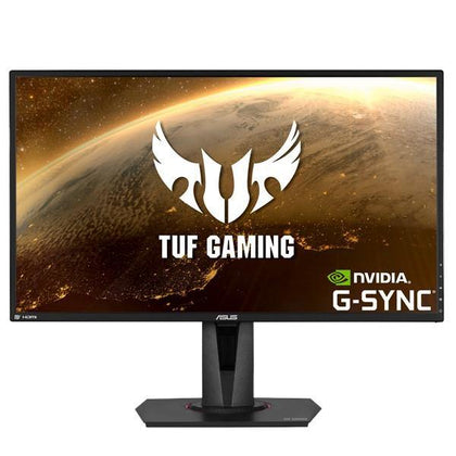 ASUS TUF Gaming VG27AQ HDR Gaming Monitor – 27 inch WQHD (2560x1440), IPS, 165Hz (above 144Hz), Extreme Low Motion Blur Sync G-SYNC Compatible, Adaptive-Sync, 1ms (MPRT), HDR10
