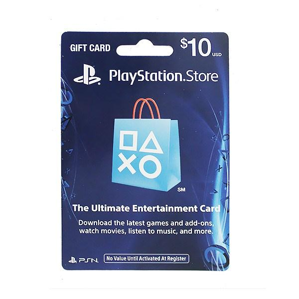 SONY Playstation Network Card 10$ (Online Game Card) - US Account