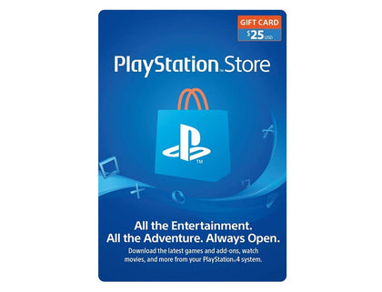 Sony $25 PlayStation Store Gift Card - USA
