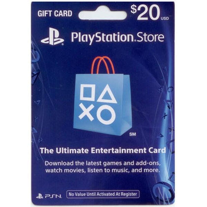 SONY Playstation Network Card 20$ (Online Game Card) - US Account