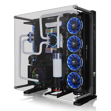 Thermaltake Core P5 Tempered Glass Titanium Edition ATX Vertical GPU Modular Gaming Open Frame Computer Case