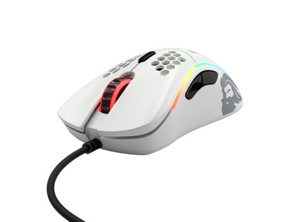 Glorious Model D Gaming Mouse, Matte White (GD-White)