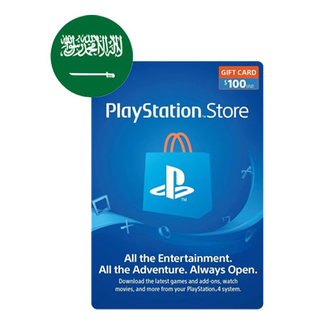 Sony PSN - Saudi Arabia 100$ - Saudi Account