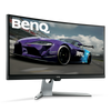 BEnQ EX3501R 35 Inch Curved Gaming Monitor for Sim Racing, 4ms, 2K Ultrawide WQHD, HDR, 21:9