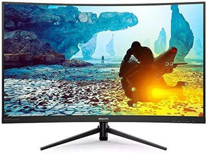 "Philips 27"" Curved Gaming Monitor, Momentum 272M8CZ, VA LED Monitor, 1ms Response time, 165HZ, AMD Free Sync, Full HD 1920x1080, Xbox Ready, VGA, DP, and HDMI port, 272M8CZ"