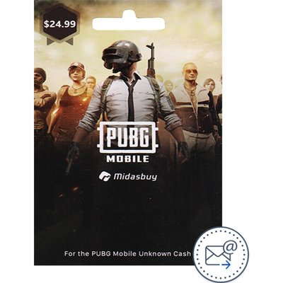 PUBG Mobile 1500 + 300 Unknown Cash 24.99$, Game Payment and Recharge Card