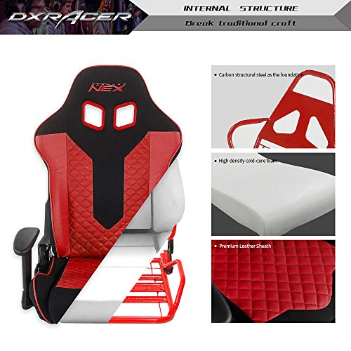 DXRACER NEX Gaming Chair- Black/Red