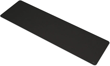 Long Black Cloth Mousepad