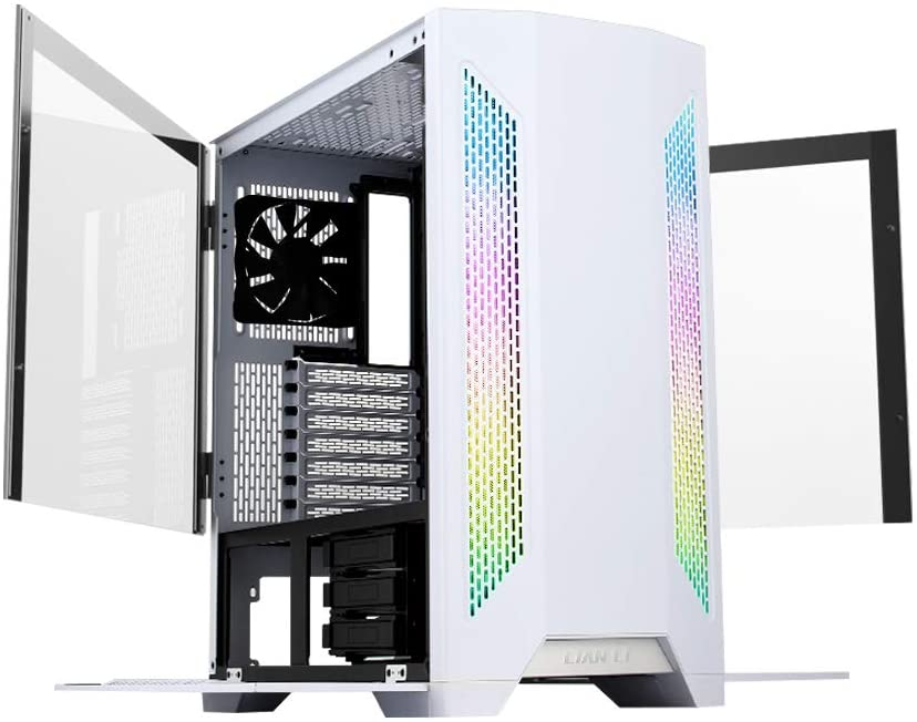 Lian Li Lancool 2 Tempered Glass ATX  Case - White