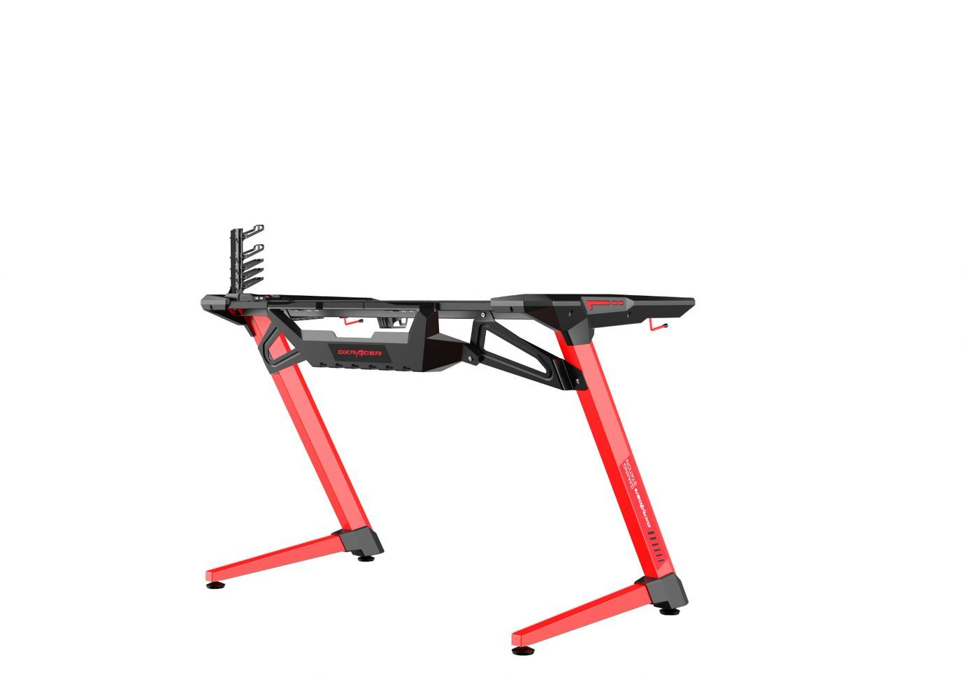DXRacer E-Sports Gaming Desk - Black/Red