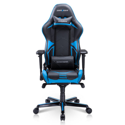 DXRacer Racing Series PRO Vinyl and PU Leather R131/NB-Black/Blue