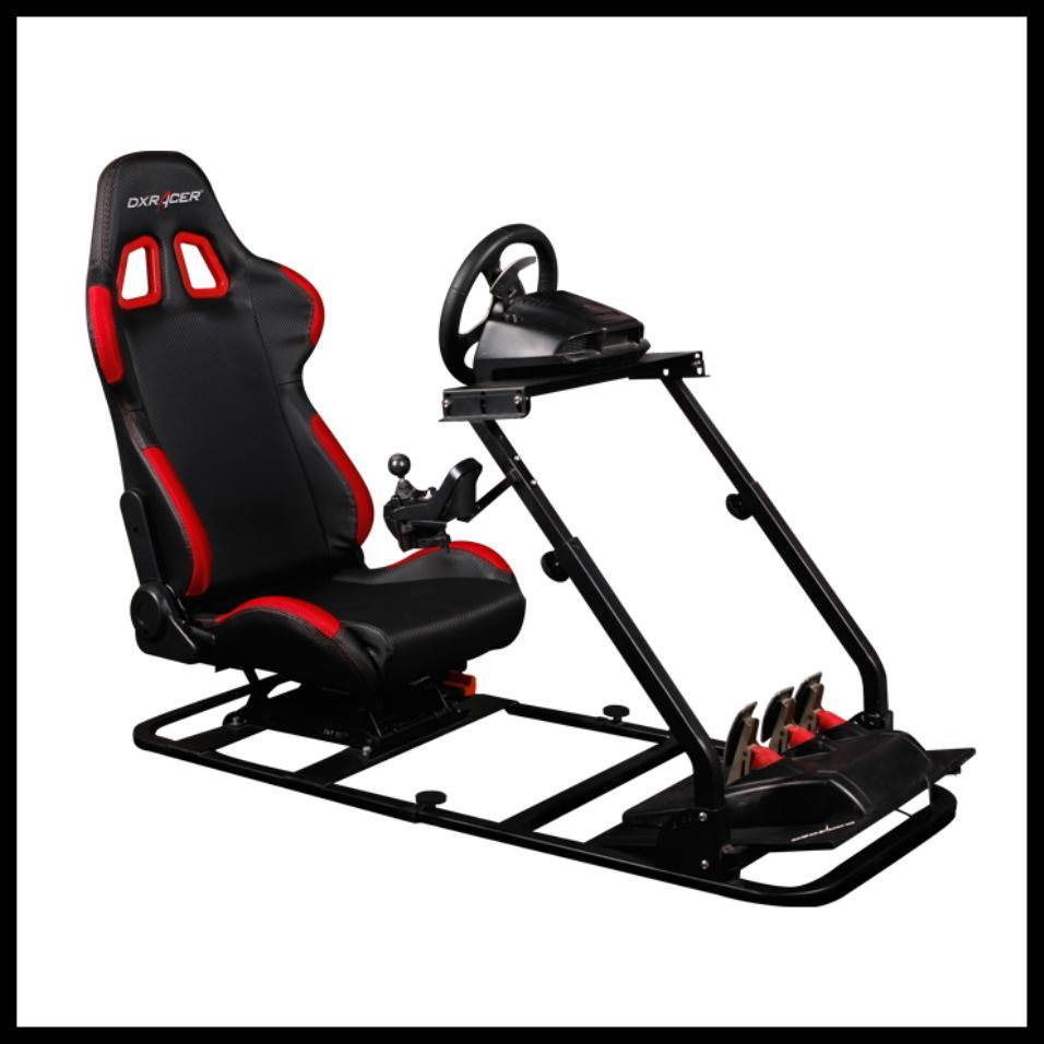 DXRacer Racing Simulator PS/COMBO/200-Black/Red