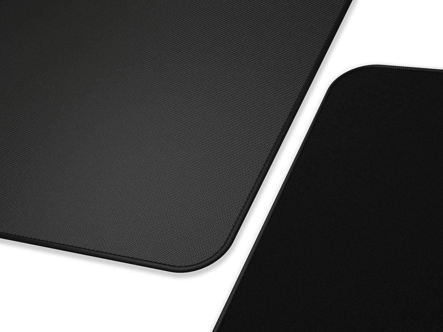 Glorious Large Extended Gaming Mouse Pad/Mat - Stealth Edition - Long Black Cloth Mousepad