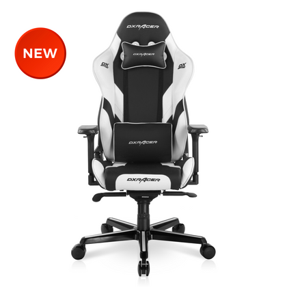 2021 DXRacer G Series Modular Gaming Chair D8200 - Black & White (The Seat Cushion Is Removable)
