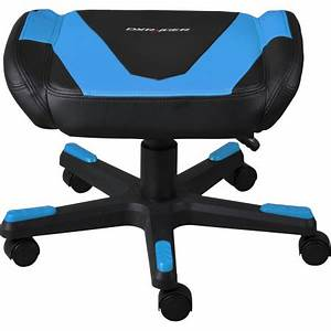 DXRacer Foot Stool - Black/Blue