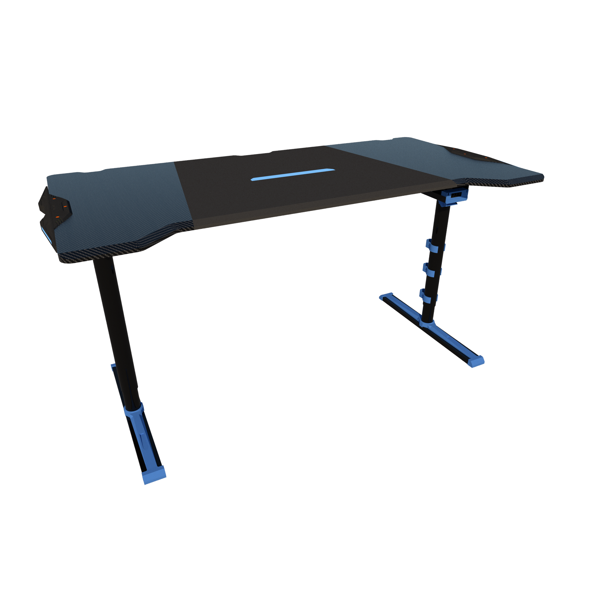 Twisted Minds GDTS-4F RGB Gaming Desk - Black/Blue