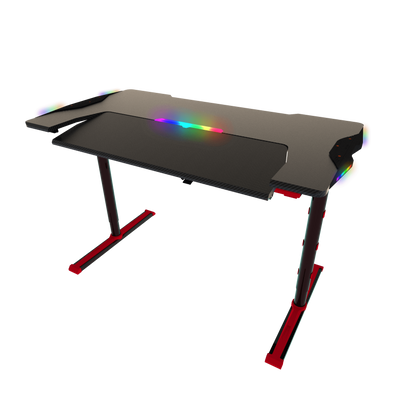 Twisted Minds GDTS-4 RGB Gaming Desk - Black/Red