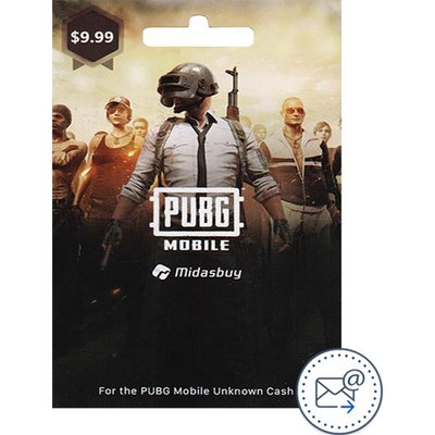 PUBG Mobile 600 + 60 Unknown Cash 9.99$, Game Payment and Recharge Card