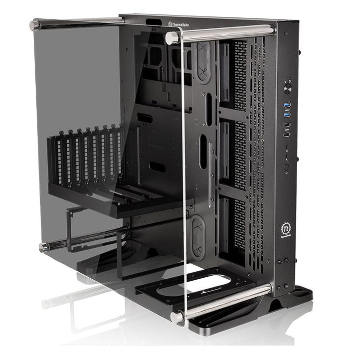 Thermaltake Core Tempered Glass Edition ATX Open Frame Panoramic Viewing Tt LCS Certified Gaming Computer Case