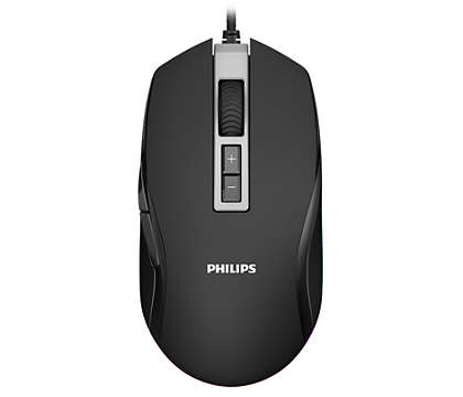 Philips G200 Series Wired Gaming Mouse with Ambiglow