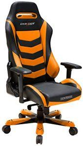 DXRacer Iron Series Gaming Chair - Black/Orange