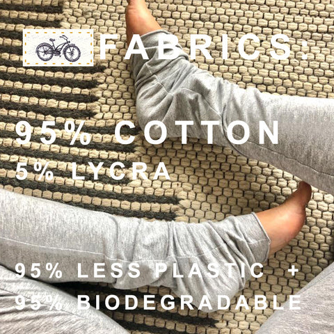 Bicycle the Label Fabrics | 95% Cotton + 5% Lycra