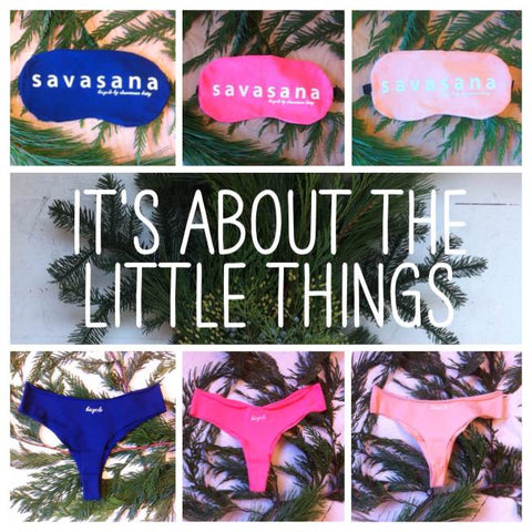 little things g-strings & sleep masks
