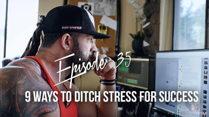 9 ways to ditch stress for success