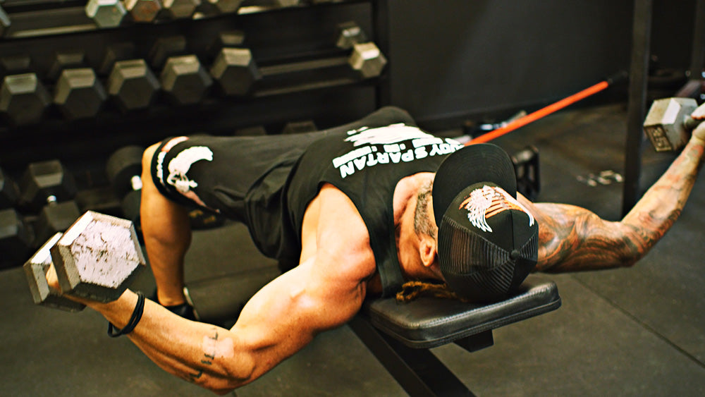 The best chest workout with low incline flies