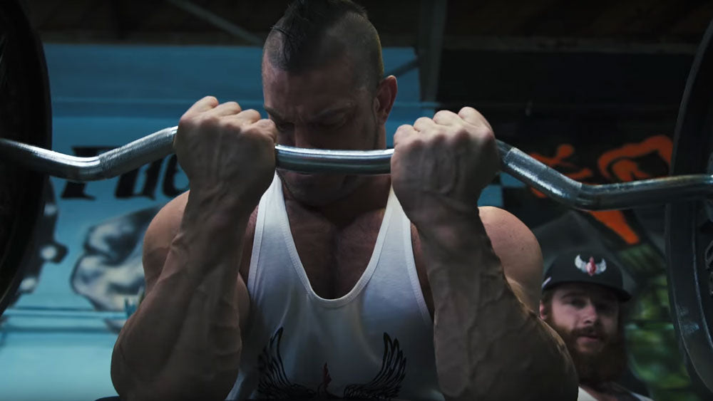CT Fletcher Arm Workout with Curls