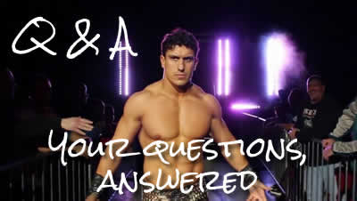 Fitness questions and answers with TNA's Ethan Carter
