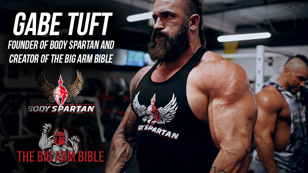 Creator of the Big Arm Bible Gabe Tuft
