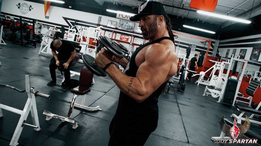 Arm workout tips and hammer curls