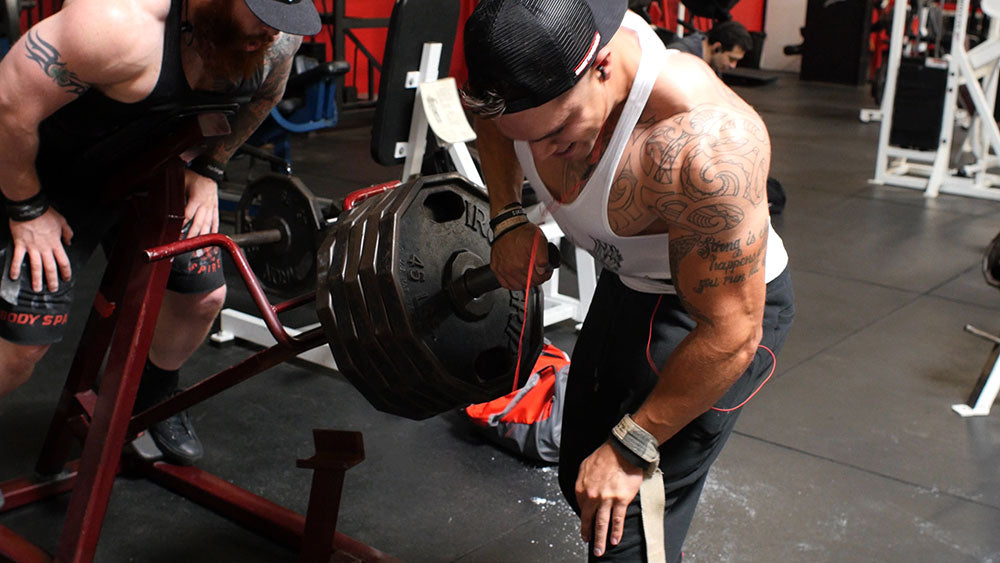 Lateral t-bar rows