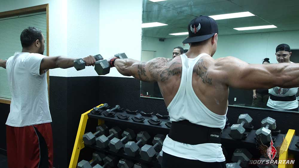 lateral raise shoulder workout